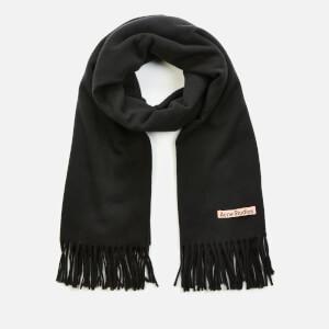 Acne Studios Canada New Oversized Wool Scarf - Black