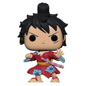 POP Animation: One Piece- Luffy in Kimono