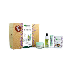 Garnier Organic Anti-Age Rejuvenating Lavandin Trio for Glowing Skin