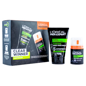 L'Oreal Men Expert Clear Winner Purifying Duo Gift Set for Him (Worth £15.00)