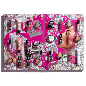 NYX Professional Makeup Diamonds and Ice Please 24 Day Advent Calendar Festive Countdown (Worth £89.00)