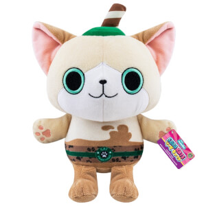 "Paka Paka Soda Kats Cat Pawchino 7"" Plush"