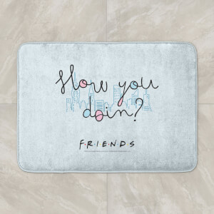 Friends How You Doin? Bath Mat