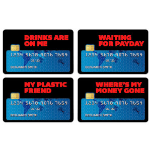 Drinks Are On Me Credit Card Covers