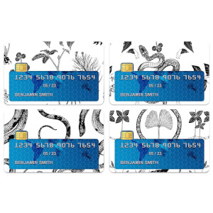 Snake Credit Card Covers