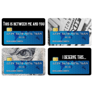 I Deserve This... Credit Card Covers