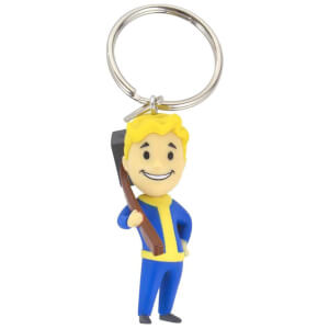 Official Fallout Vault Boy Melee Keyring/Keychain
