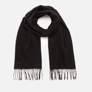 Barbour Casual Women's Lambswool Woven Scarf - Black
