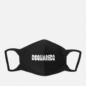 Dsquared2 Men's Logo Face Mask - Black/White