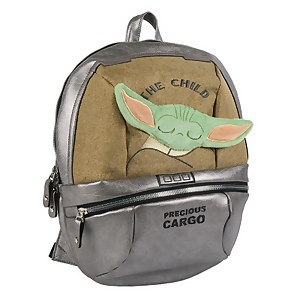 "Star Wars The Mandalorian The Child (Baby Yoda) ""Precious Cargo"" Backpack 35cm"
