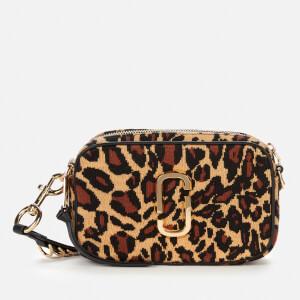 Marc Jacobs Women's The Softshot 21 Leopard Bag - Black Multi