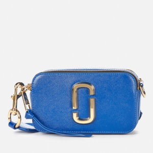 Marc Jacobs Women's Snapshot Flag Cross Body Bag - Blue