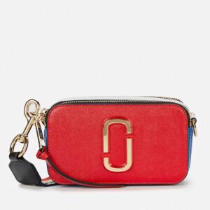 Marc Jacobs Women's Snapshot USA Cross Body Bag - Red Pepper Multi