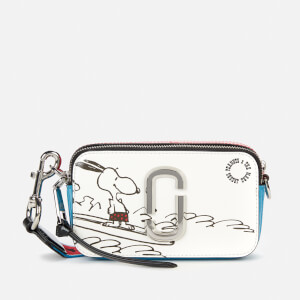 Marc Jacobs Women's Snapshot Peanuts Americana Bag - White Multi