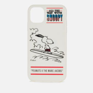 Marc Jacobs Women's Peanuts Americana iPhone 11 Case - White Multi
