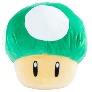 Mario Kart Nintendo 1Up Mushroom Mega Plush Toy