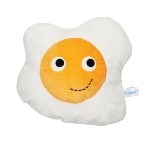 Kidrobot Yummy Breakfast Plush Egg Plush 16 Inch White