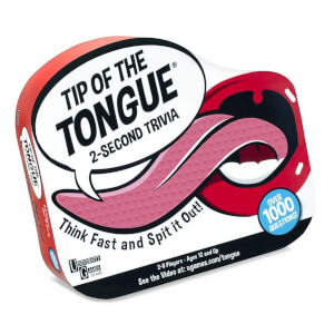 Tip of the Tongue Card Game