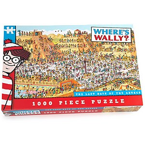 Where's Wally The Last Days of the Aztecs Jigsaw Puzzle (1000 Pieces)