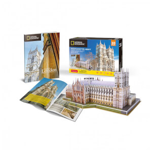 National Geographic - Westminster Abbey 3D Jigsaw Puzzle