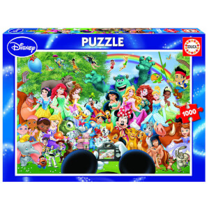 Marvellous World Of Disney Jigsaw Puzzle (1000 Pieces)