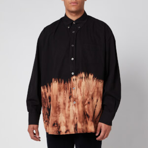 Our Legacy Men's Borrowed Bd Tie Dye Shirt - Black