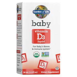 Organic Baby - Vitamin D3 - 56ml