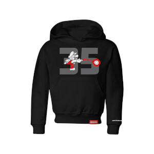 Fire Mario Hoodie (Kids) - Super Mario Bros. 35th Anniversary