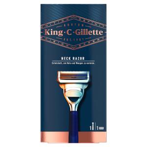 King C. Gillette Hals- und Nackenrasierer