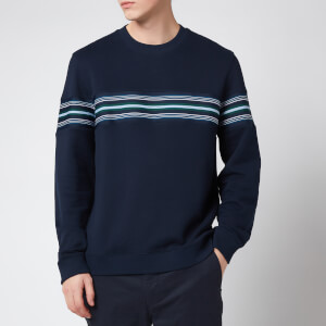 Ted Baker Men's Sumo Striped Sweatshirt - Navy