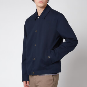 Ted Baker Men's Wear Cotton Harrington Jacket - Navy