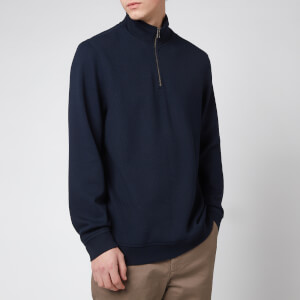 Ted Baker Men's Rebal 1/4 Zip Sweatshirt - Dark Navy