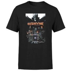 DC Fandome Batman Men's T-Shirt - Black