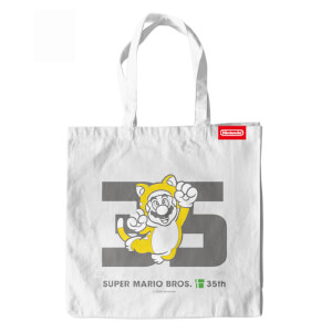 Cat Mario Tote Bag - Super Mario Bros. 35th Anniversary