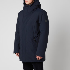 Mackage Men's Edward NFR Heavy Down Hooded Parka - Navy