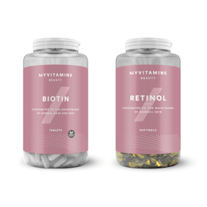 Myvitamins Biotin and Retinol Bundle