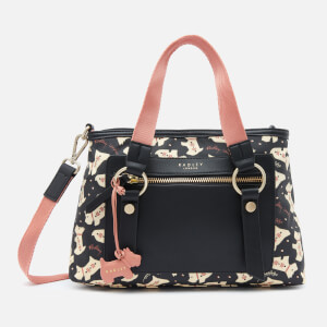 Radley Women's Dotty Dog Medium Ziptop Multiway - Black
