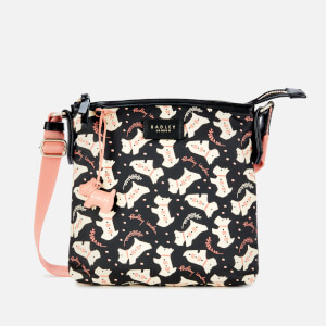 Radley Women's Dotty Dog Small Ziptop Cross Body Bag - Black
