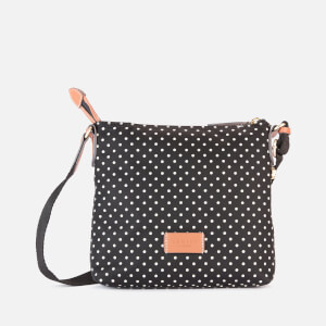 Radley Women's Pocket Essentials - Polka Spot Small Ziptop Cross Body Bag - Black
