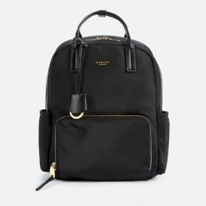 Radley Women's Finsbury Park Medium Ziptop Backpack - Black