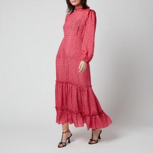 RIXO Women's Becky Dress - Mystic Bloom Red