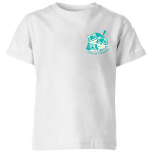 T-Shirt Nintendo Animal Crossing Mirco & Marco Pocket - Bianco - Bambini