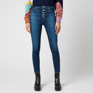 J Brand Women's Lillie High Rise Crop Skinny Jeans - Arcade