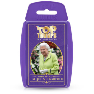 Top Trumps Card Game - HM Queen Elizabeth II Edition
