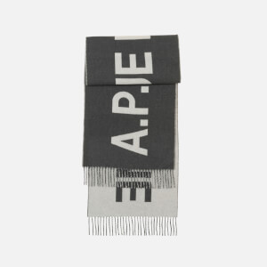 A.P.C. Women's Angele Scarf - Anthracite