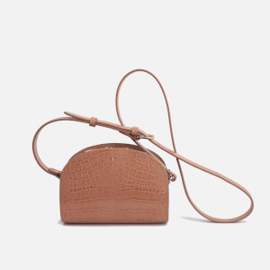 A.P.C. Women's Demi-Lune Mini Cross Body Bag - Rose