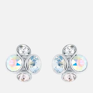 Ted Baker Women's Lynda: Jewel Cluster Stud Earrings - Silver/Crystal Multi