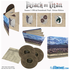 Attack on Titan Original Soundtrack Limited Edition Vinyl Box Set