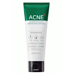 SOME BY MI AHA BHA PHA 30 Days Miracle Acne Clear Foam 100ml