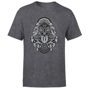 Dungeons & Dragons Yuan Ti Unisex T-Shirt - Black Acid Wash